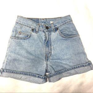 VINTAGE Levi's High Rise Jeans Shorts Size 12